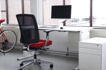 Elektrisch verstelbaar bureau tweedehands