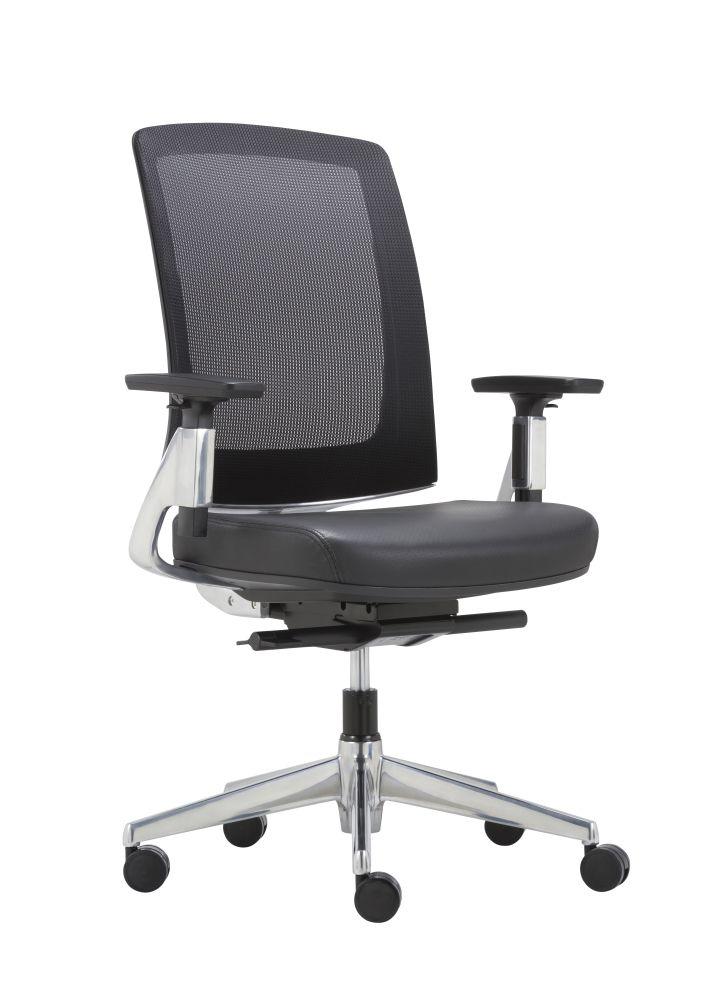 Luxe Leren Bureaustoel.Luxe Directie Bureaustoel Mirco Deluxe Goedkoopinrichten Nl