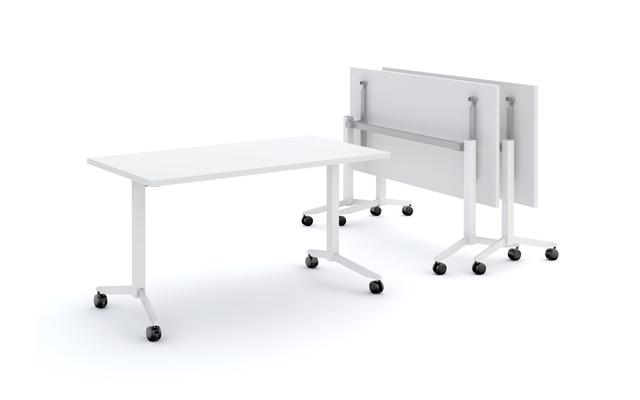 Inklapbare en verrijdbare tafel for Inklapbare tafel