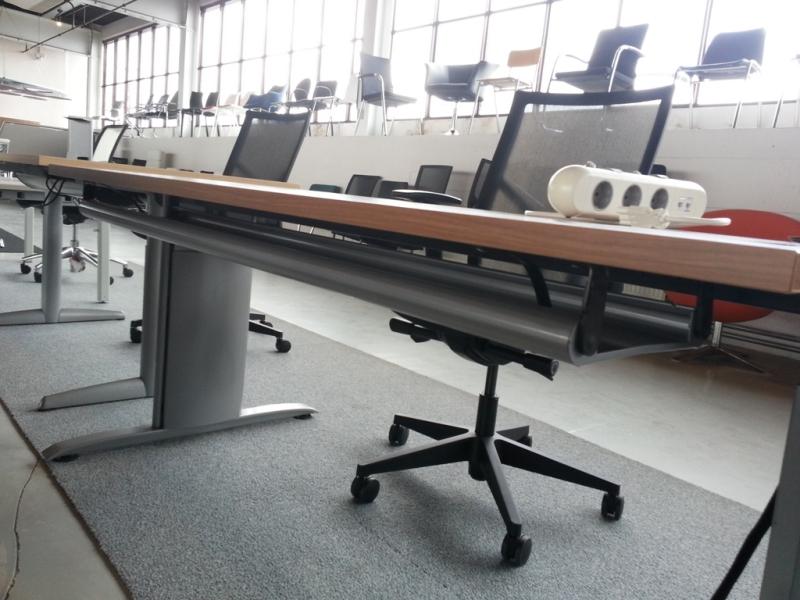 Mewaf kabelgoot 133 cm for Ladeblok onder bureau