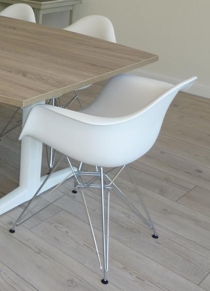 Nieuwe design kuipstoel wit met armleuningen - Nieuwe home design ...