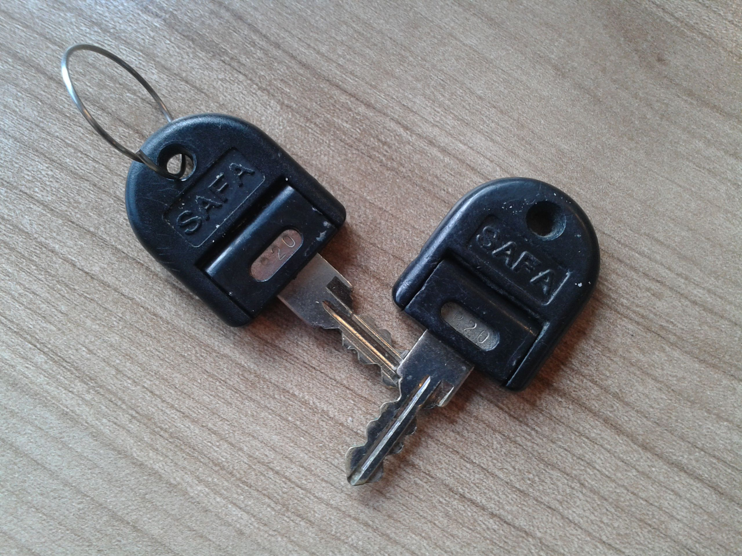 sleutel voor uw kast of ladeblok