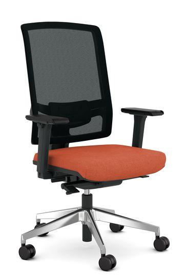 Bureau Stoel Luxe.Viasit F1 Luxe Bureaustoel Met Netweave Rug Goedkoopinrichten Nl