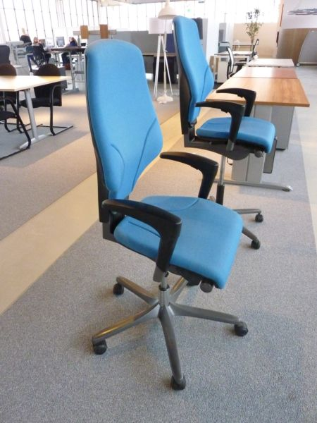 Gebruikte Bureaustoelen  Ahrend 2020 Bureaustoel Blauw Tweedehands BrixXo